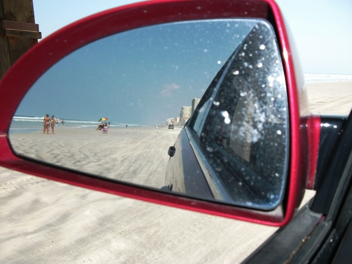 Driving on World's Most Famous Beach- Daytona