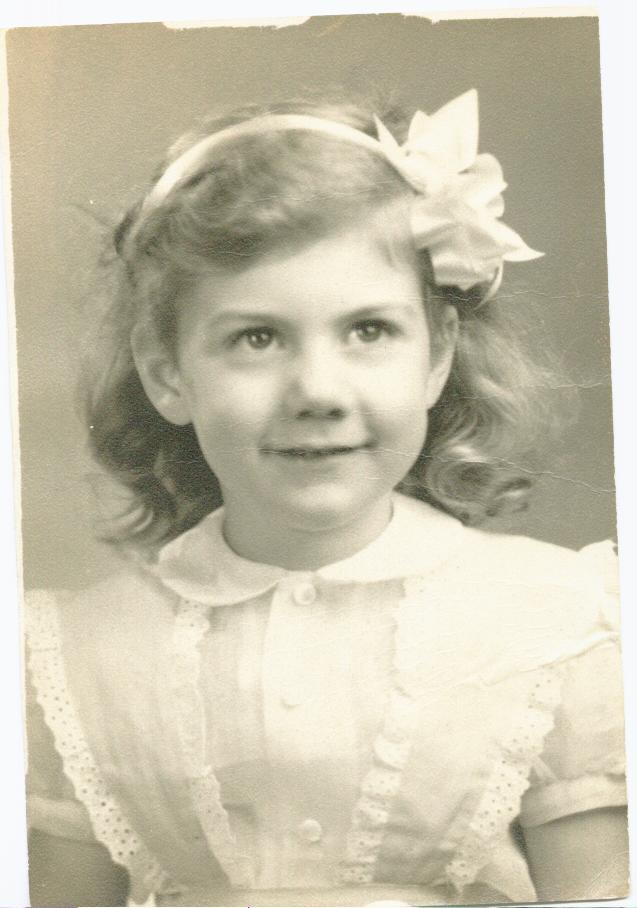 Me as a one year old...69 years ago...
