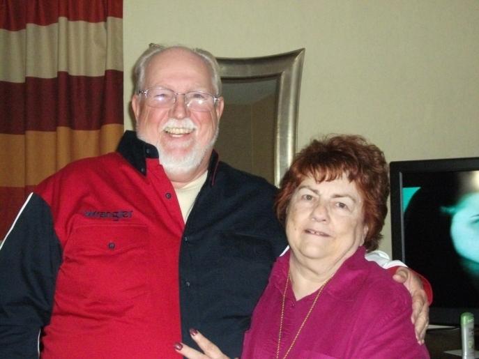 Bob King and I at Reunion